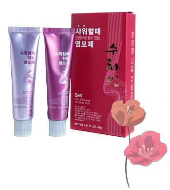 hair dye, suwhayeon