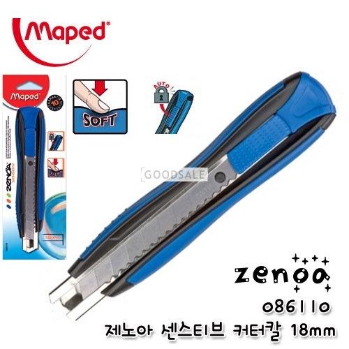 larger Maped Zenoa 086110 18mm Cutters